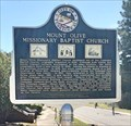 Image for Mount Olive Missionary Baptist Church - Tuskegee, AL