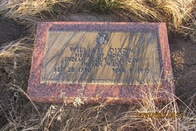"Waymark Code: WM1WY4, William ""Billy"" Dixon northeast of Borger, Texas"