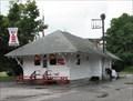Image for Gilbertville, MA.  {Former train station}.