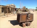 Image for Covered end-dump ore cart - Pioneertown, California