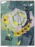 Image for Cadrans solaire Le python et sa couronne en vert et or - Coaraze, France