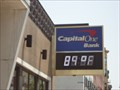 Image for Capital One Time & Temperature Sign  -  Hoboken, NJ