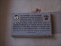 Image for Brington  -2nd World War Memorial  - All Saints Church - Huntingdon