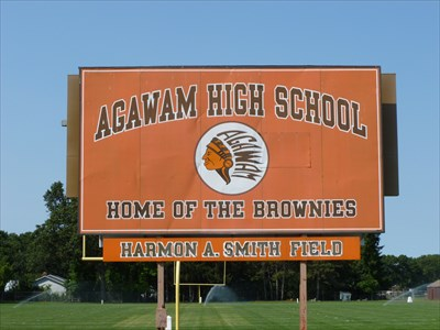 harmon a smith field agawam ma illuminated school sports