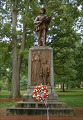 "Image for Memorial to Civil War Soldiers of the University, ""Silent Sam"", University of North Carolina"