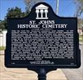 Image for St. John's Historic Cemetery - Pensacola, FL