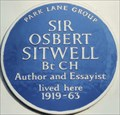 Image for Sir Osbert Sitwell - Carlyle Square, London, UK