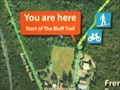 Image for Bluff Trail - You are here - Frenchs Forest, NSW