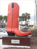 Image for Ginormous Boot - Way Out West - Davenport, Florida