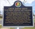 Image for Fred David Gray - Tuskegee, Alabama