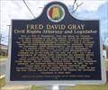Image for Fred David Gray - Tuskegee, Alabama