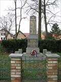 Image for World War Memorial - Zaluzany, Czech Republic