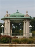 Image for Nathan Frank Bandstand in Pagoda Lake - Forest Park, St. Louis, MO