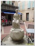 """Image for """"La Femme assise"""" de Karl-Jean Longuet, Manosque, PACA, France"""