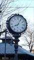 Image for Town Clock Raiffeisenplatz Ochtendung, Rhineland-Palatinate, Germany