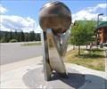 """Image for Rick Hansen - """"Man in Motion"""" Tour Globe - Williams Lake, British Columbia"""