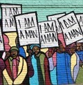 Image for I Am A Man - Mural - Memphis, Tennessee, USA.