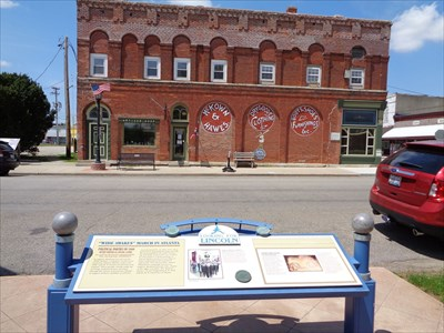 Wide Awakes March - Historical Markers