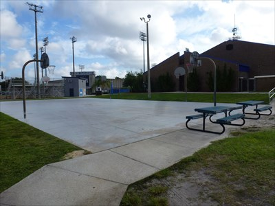 unf outdoor basketball court fl outdoor basketball courts on