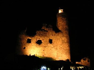 každoroční srpnové dobývání hradu