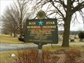 Image for Blue Star Marker at Graceland Cemetery - Fairbury, IL