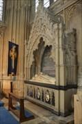 Image for Tomb Archbishop Edward White Benson - Canterbury Cathedral - Canterbury - Kent - UK