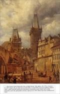Image for Lesser Town Bridge Towers by A. G. Schulz - Prague, Czech Republic.