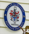 Image for William W. Bishop House - Kamloops, BC