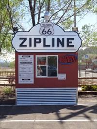 veritas vita visited Route 66 Zipline