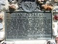 Image for CA Historic Marker: San Andreas