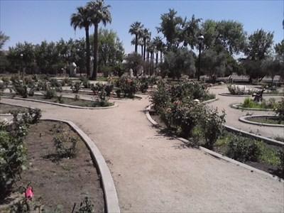 Sahuaro Ranch Park Rose Garden