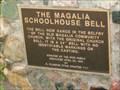 Image for The Magalia School House Bell, Magalia, CA