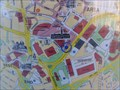 """Image for Hall Ings """"You Are Here"""" map – Bradford, UK"""