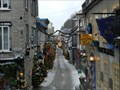 Image for Oldest commercial street in North America, Rue Petit-Champlain, Québec,Qc, Canada