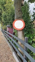 Image for Sign eating tree - Hagestein, NL