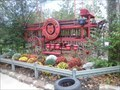 Image for Horse-Drawn Fire Engine - Silver Dollar City - Branson MO