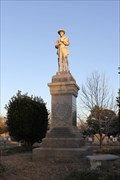 Image for Confederate Soldier Monument -- Oakwood Cem., Tyler TX