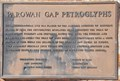 Image for Parowan Gap Petroglyphs Marker