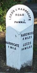 Image for Milestone - Leeds Road, Harrogate, Yorkshire, UK.