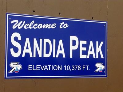 veritas vita visited Sandia Crest House