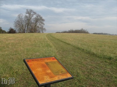 Just follow the mowed pathway to other historical displays and points of interest of the Battle of Brandy Station.