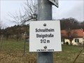 Image for Höhenmarke Schnaitheim Steigstraße, Heidenheim-Schnaitheim 512 Meter