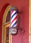 Image for Palace Barber Shop Barber Pole - Yreka, CA