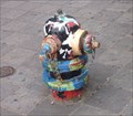 Image for Abstact painted hydrant - S University Ave, Ann Arbor, MI, USA