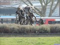 Image for Verso Domani Statue - Greyfriars Roundabout, Bedford, UK