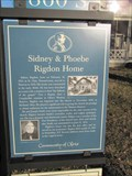 Image for Sidney & Phoebe Rigdon Home - Nauvoo, Illinois