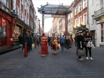 Chinatown Arch - Gerrard Street, London