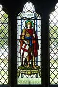 Image for WW2 Memorial Stained Glass Window - All Saints Church - Standon, Staffordshire.