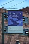 Image for Hopdale A Mill Village - Hopedale MA