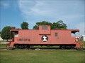 Image for IC 9445 caboose - Grayville, IL